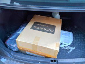 Rockwheel GT16 коробка