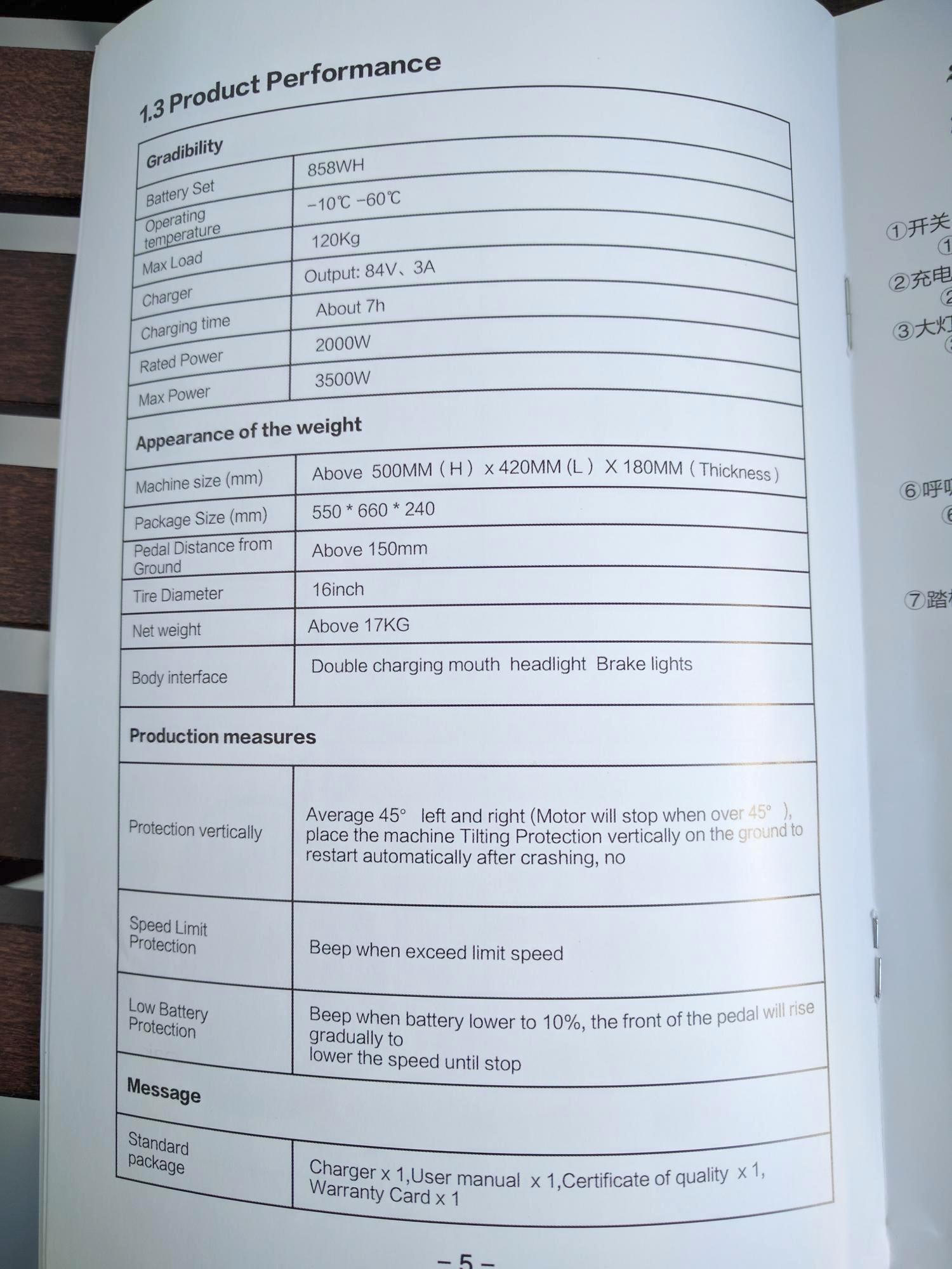 Rockwheel GT16 руководство пользователя