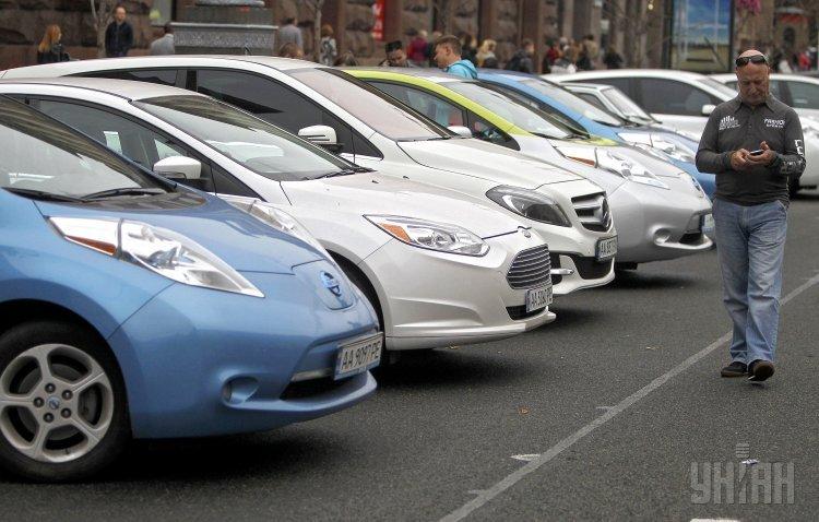 Шоу электро транспорта в Киеве
