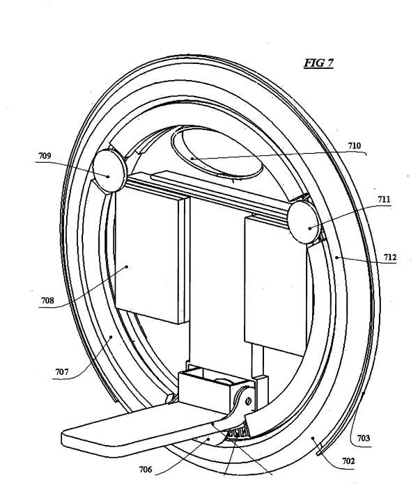 Фото патента моноколеса