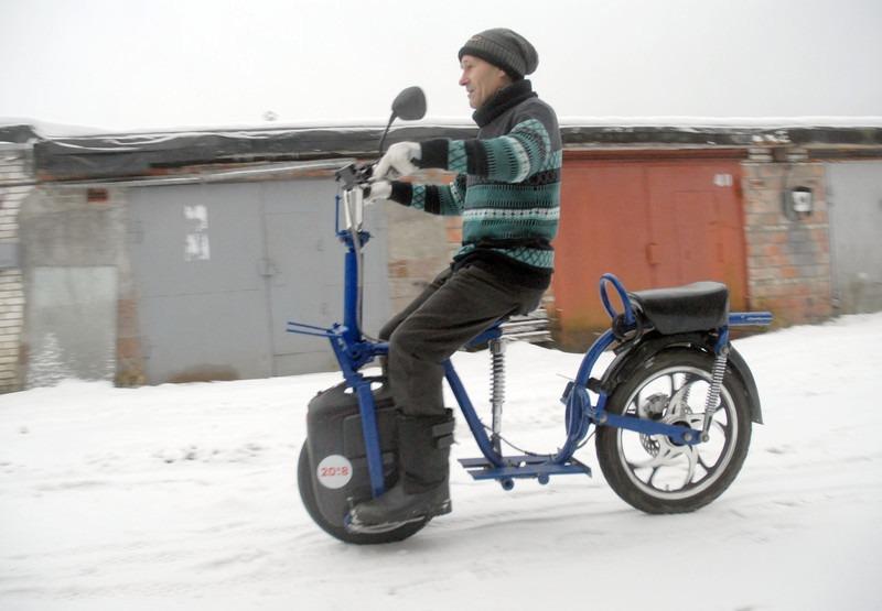 Самодельный скутер из GotWay Msuper 3