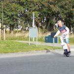 Датский блогер сделал моноколесо с рулем и сиденьем