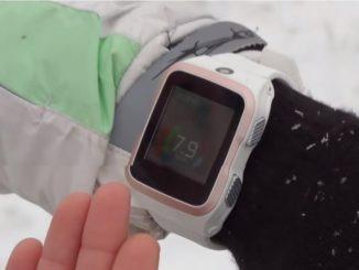 Часы показывают скорость моноколеса