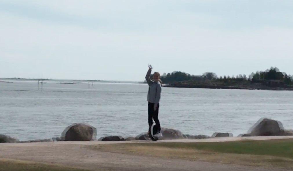 В Финляндию на Моноколесе