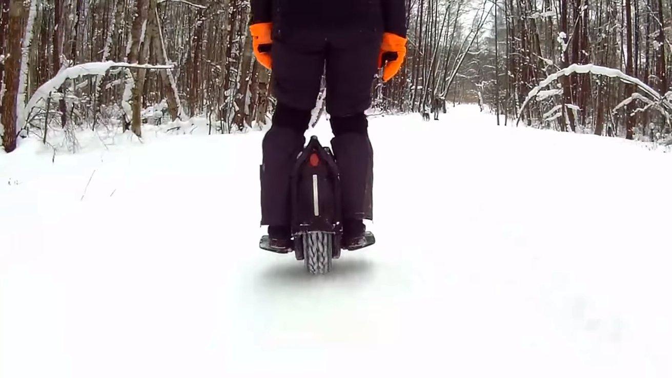Моноколесо Ninebot Z10 снегоход?