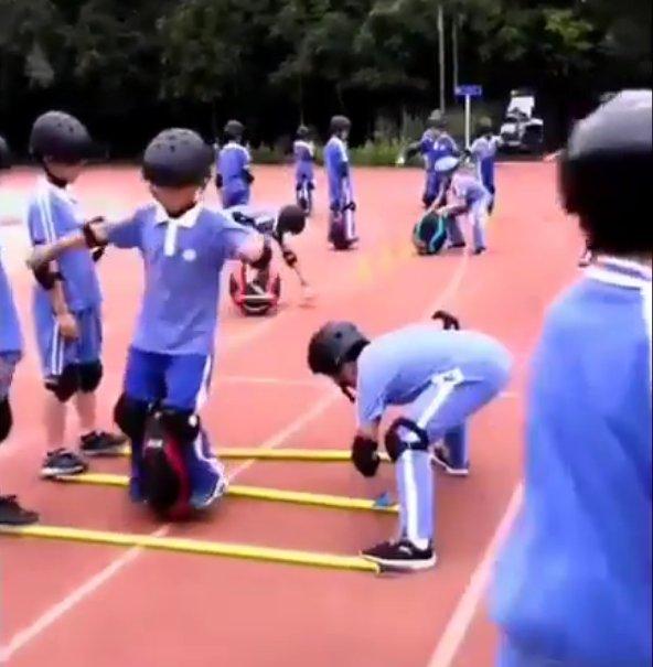 Моноколесная школа для детей