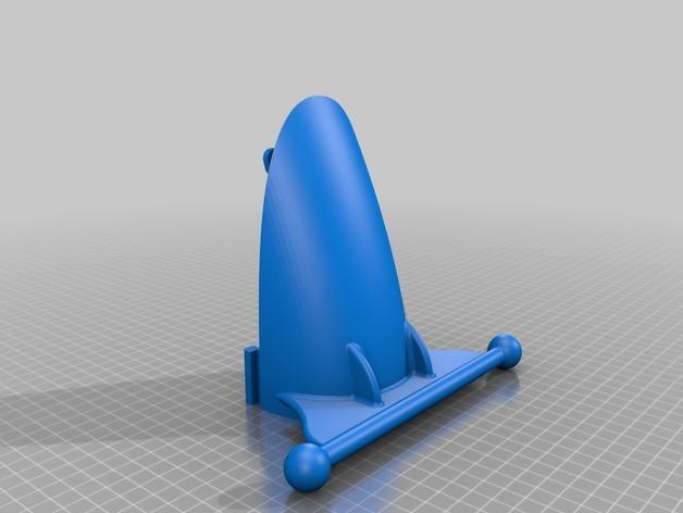 3D модель крыла