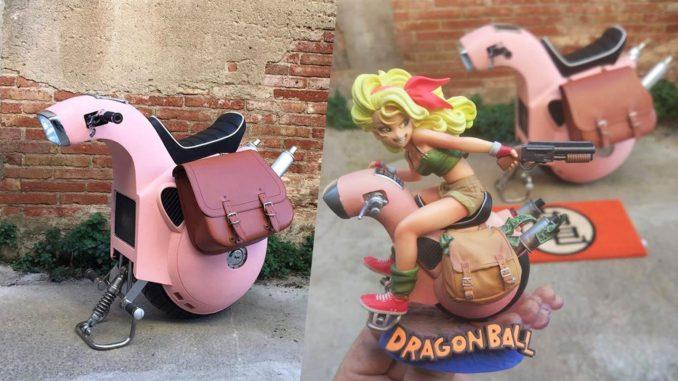 Моноколесо из мультфильма Dragonball Z
