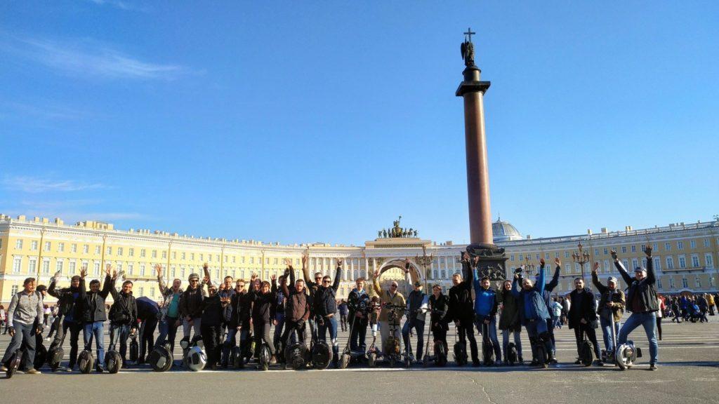 Открытие сезона на Дворцовой площади