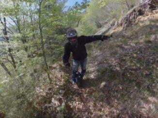 На моноколесе по горам
