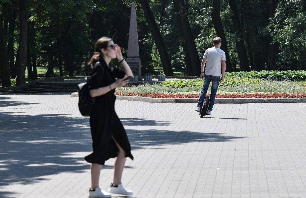 Дмитрий но моноколесе