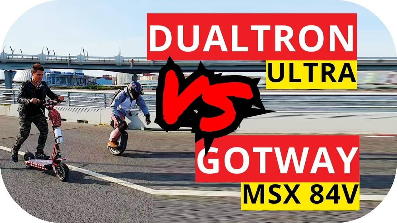 GotWay MSX 84v VS электросамоката Dualtron Ultra