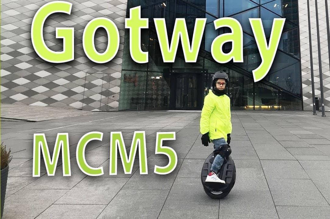 Распаковка GotWay MCM5 84v