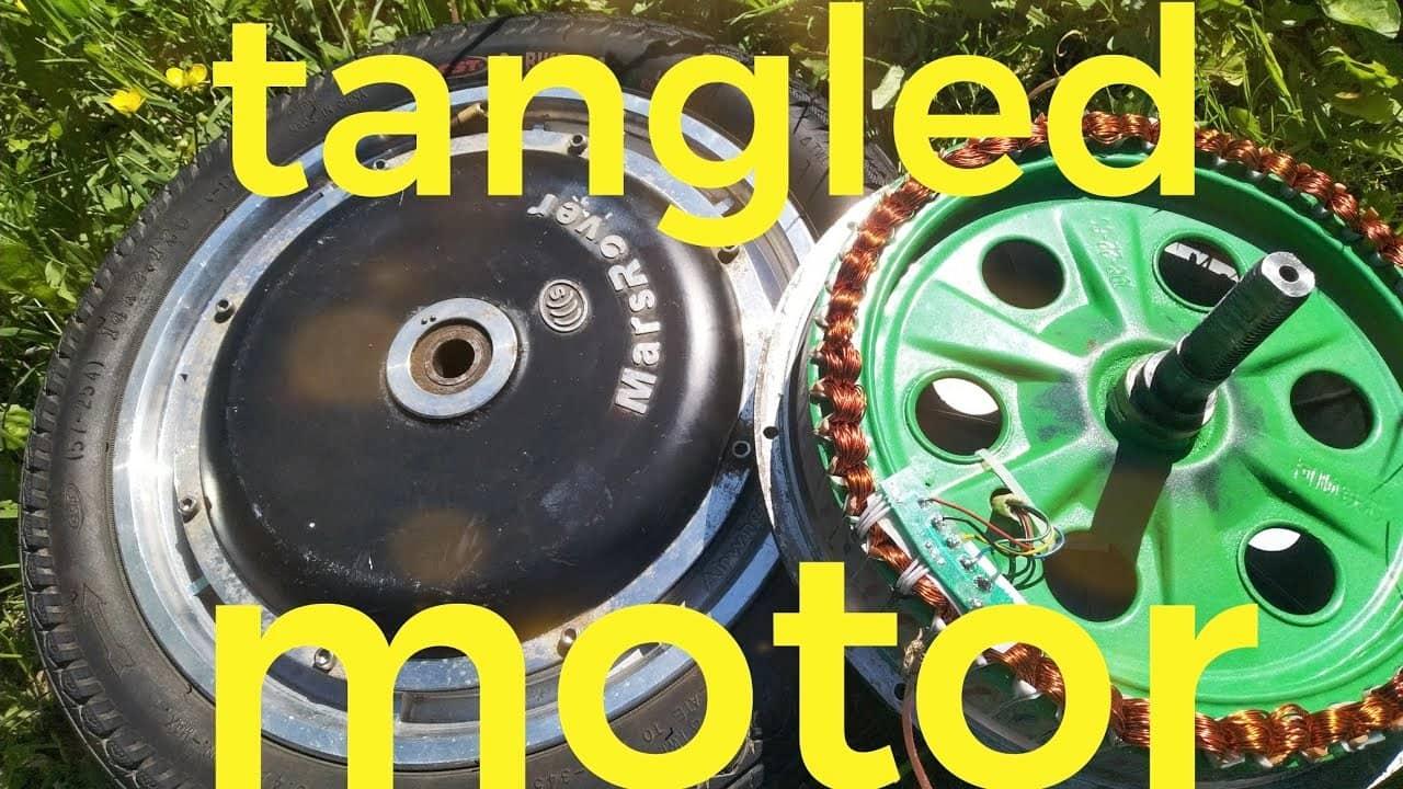 Перемотка мотора моноколеса