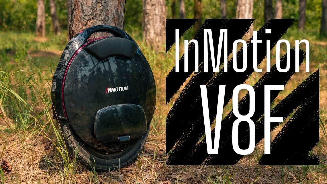 Обзор InMotion V8F. Моноколесо на 1000W