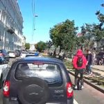 Моноколёсник сбил ребенка с отцом в Петербурге