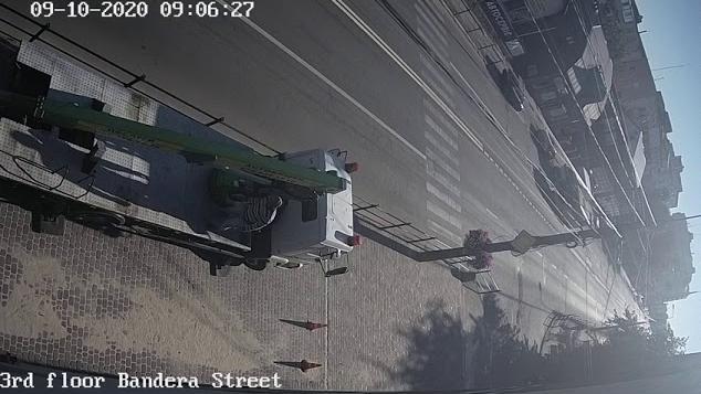 Гибель моноколёсника попала на видео