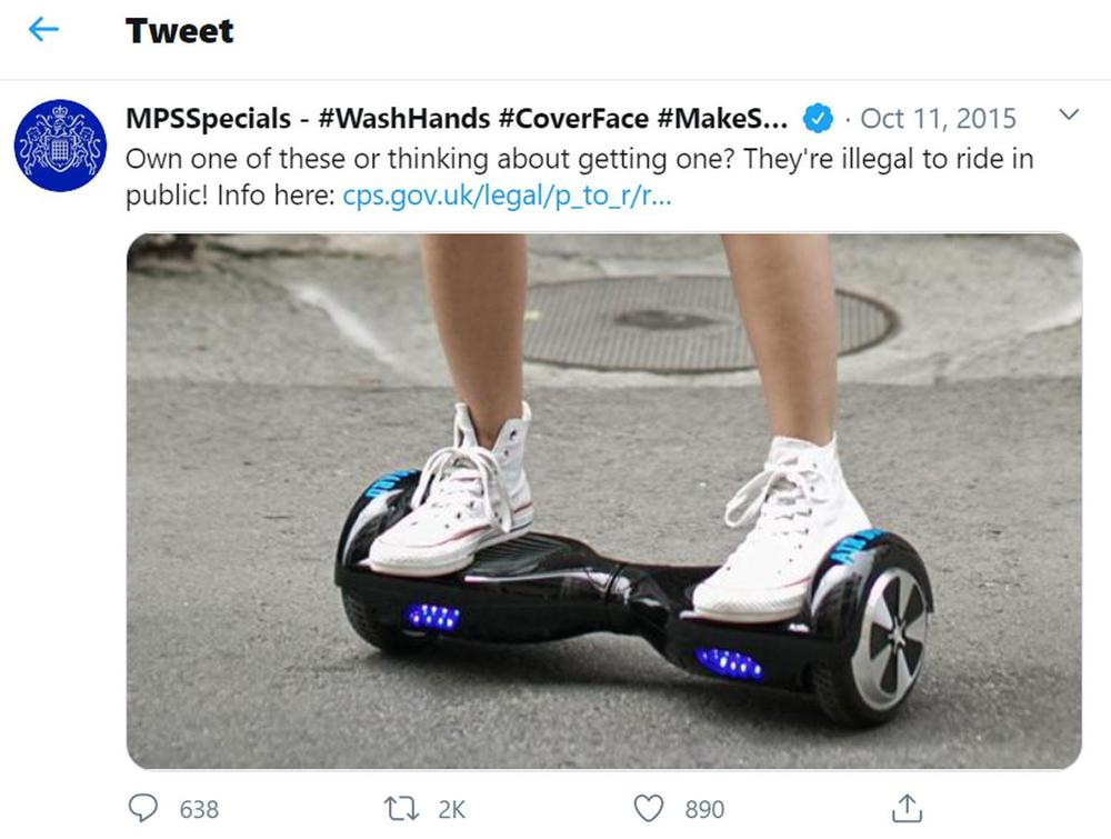 Запрет на передвижение в твиттер