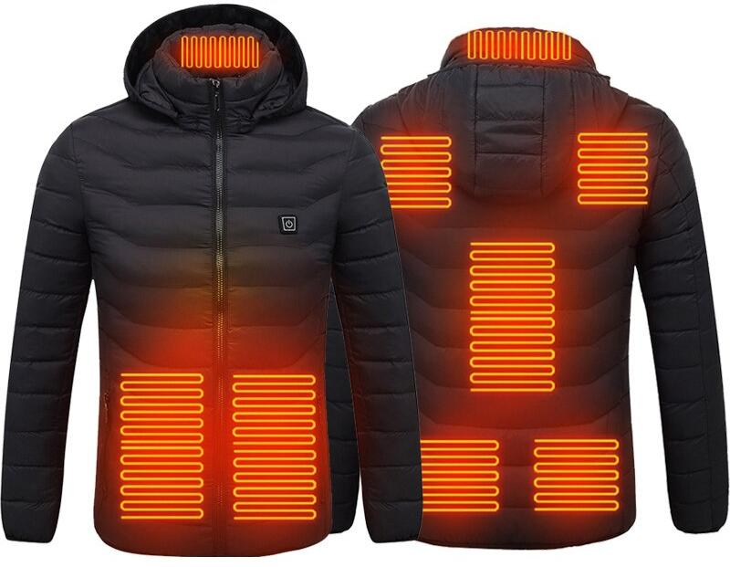 Куртка с электроподогревом