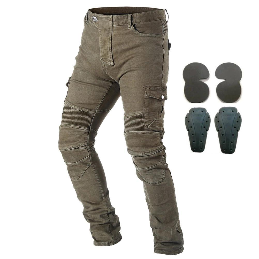 Мото-джинсы