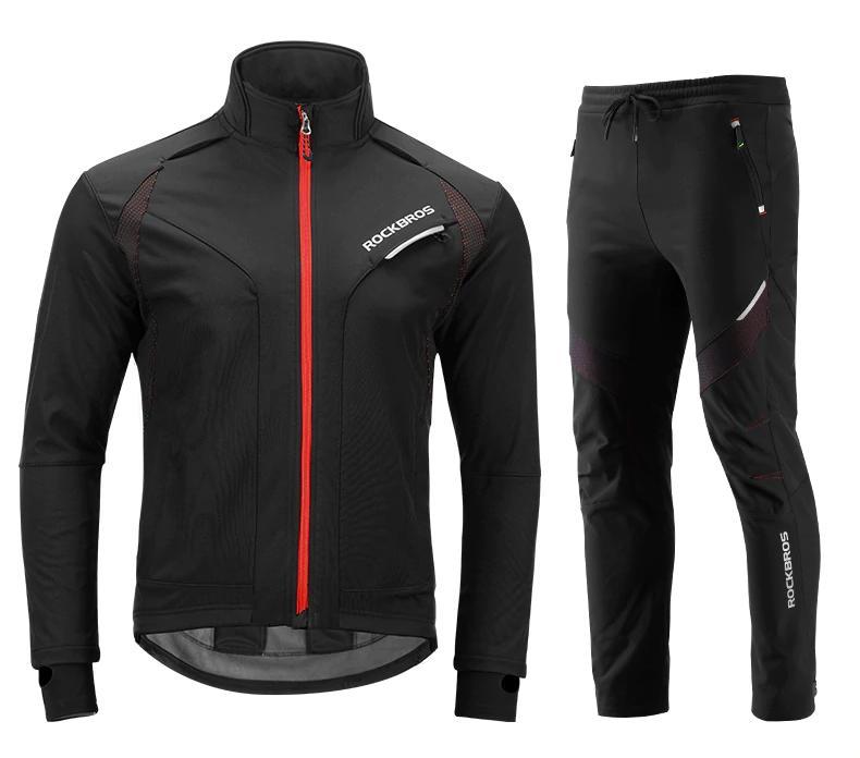 Ветрозащитная куртка Rockbros со штанами